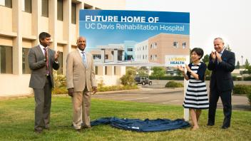 Unveiling of the Rehabilitation Building on Aggie Square