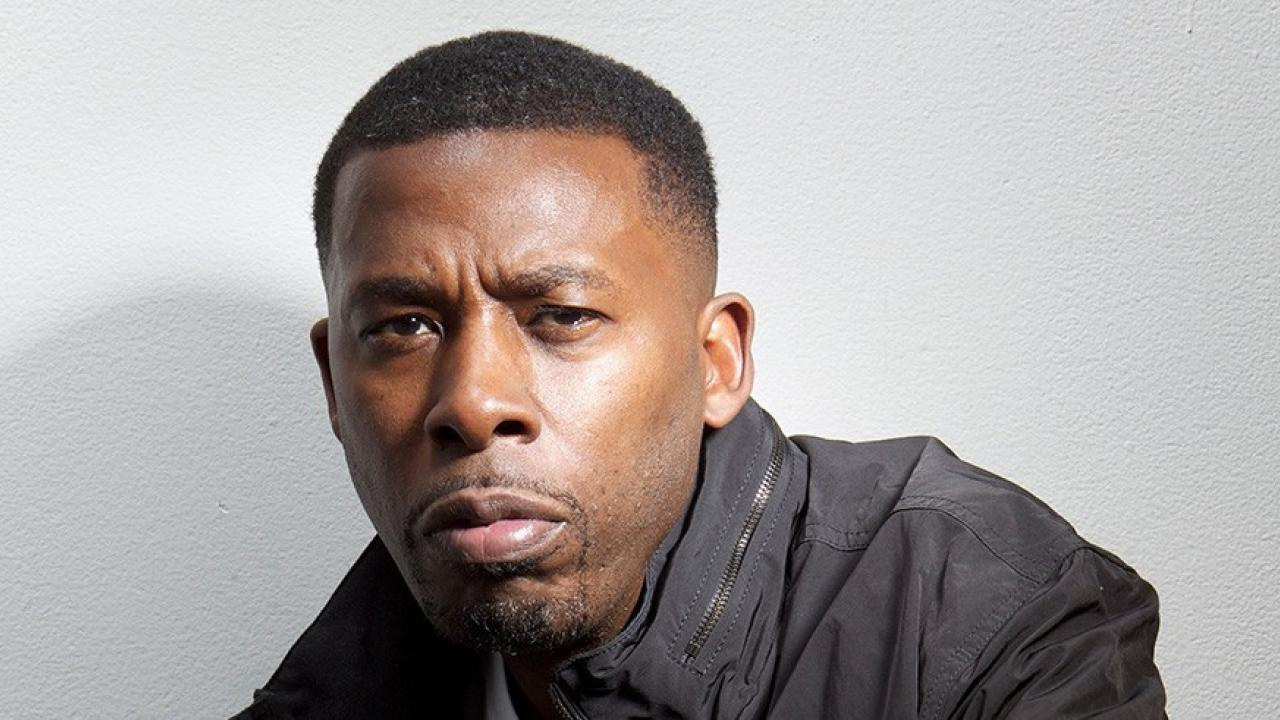 UC Davis Chancellor's Colloquium: a headshot of GZA of Wu-Tang Clan who will talk about songs and science